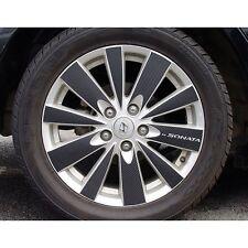 "NEW Carbon Tuning Wheel Sticker for Hyundai NF Sonata Transform 2008-09 17"""