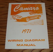 1971 Chevrolet Camaro Wiring Diagram Manual 71 Chevy