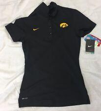 New NWT Iowa Hawkeyes Nike Dri-Fit Women's Training Size XS Polo Shirt $60