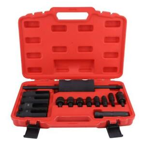 14pcs Injector Remover Common Rail Tool Kit with Slide Hammer for Car Puller