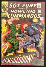 SGT.FURY HOWLING COMMANDOS #29 1966 GLOSSY SOLID FN/VF BARON VON STRUCKER