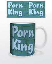 PORN KING 11 OZ COFFEE MUG SEXUAL RELATIONS INTIMACY MAN DECOR GUYS LADIES MAN!!