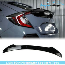Painted #NH731P Honda CIVIC 10th Hatchback 2016-2019 V Look Trunk Spoiler EX-L