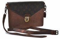 Authentic Louis Vuitton Monogram Biface Shoulder Bag Junk LV B6176