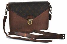 Authentic Louis Vuitton Monogram Biface Schultertasche Junk LV b6176