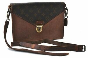 Authentic Louis Vuitton Monogram Biface Shoulder Bag Junk LV B6176