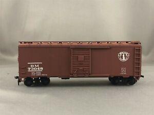 Athearn/Great Island Models - Boston & Maine - 40' Box Car + Wgt # 73048