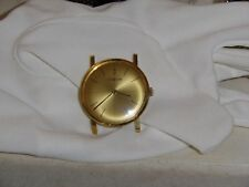 Vintage Corum 18K yellow gold mens watch aprox. 33.7 m.m.w.