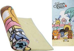 KaKao Friends and USPS Summer Beach Towel Microfiber Reactive Beach/Bath Towel