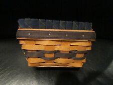 2000 Longaberger Collector Club Renewal Basket With Liner Protector EUC