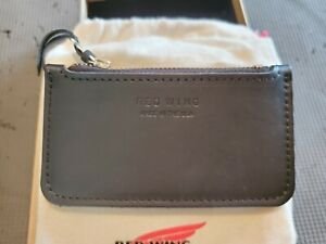 Red Wing Zipper Pouch Black Frontier