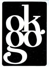 Ok Go promo St 000023Dc Icker lot 2 oh no 2003 - 3 inch x 4 inch