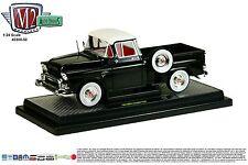 M2 MACHINES 1:24 AUTO-TRUCKS RELEASE 50A - 1958 GMC Stepside Truck Pickup Black