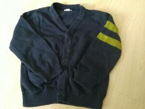 Green Dog Boys Cardigan Blue/Green  Size 7