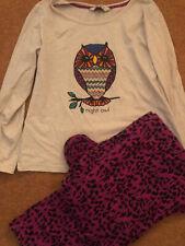 Ladies Owl Pyjamas Set 10/12