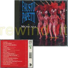 """FAUSTO PAPETTI """"MUSICALS"""" RARO CD FUORI CATALOGO"""