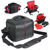 Antishock Waterproof Camera Shoulder Bag For DSLR Canon EOS REBEL KISS X3 7D 5D2