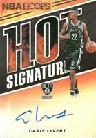 2018-19 NBA Hoops Hot Signatures Caris LeVert Auto Autograph Brooklyn Nets