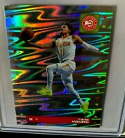 2019-20 PANINI STICKERS COLLECTION TRAE YOUNG #99 ATLANTA HAWKS