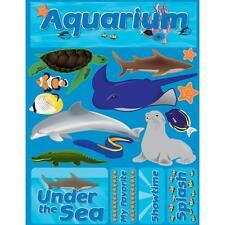Crafts 3D Stickers CS Aquarium Under Sea Shark Fish Sting Ray Dolphin Turtle