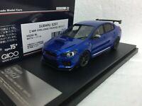 1/43 HI STORY HS202BL SUBARU S207 NBR CHALLENGE PACK WRX STI IMPREZA model car