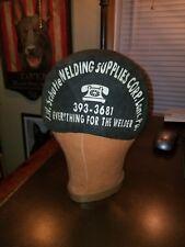 Vintage 1960s Welders Cap / Hat J.W. Shutte Lancaster, Pa