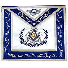 Masonic Exchange Blue And White Master Mason Apron, New, Free Shipping