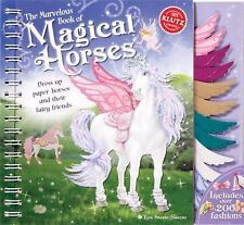 Klutz The Book of Magical Horses: Dress Up Paper Horses & Their Fairy ~ FREE SHI