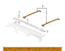 GM OEM Roof Rack Rail Luggage Carrier-Cross Rail 15748100