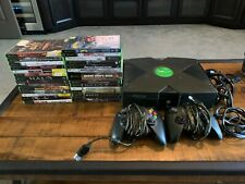 Microsoft Xbox Bundle with 2 Controllers and 28 Games