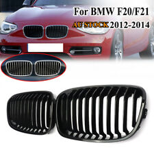 Front Bumper Cover Grill Grille For BMW 1Series F20 F21 116i 118i Glossy Black