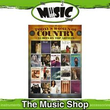 New Today's Women of Country 2nd Edition PVG Music Book - Piano Vocal Guitar