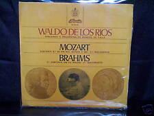 """WALDO DE LOS RIOS MOZART, BRAHMS - RARE PORTUGALESE"""" 7"""" 45 VINYL RECORD P/S"""