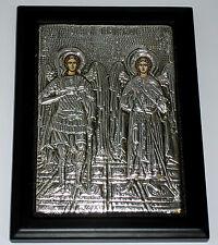 ** Engel Michael Gabriel IKONE Metall Oklad Icon Ikonen Icoon Ikona Icone Ikona