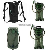 2L/3L Hydration System Water Bag Pouch Backpack Bladder Survival Hiking Climbing