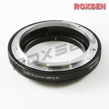 Macro Canon FD Lens to Olympus 4/3 Four Thirds Mount Adapter E-300 E-520 E-5 30