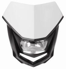 New Polisport Halo Headlight Enduro CRF Road Legal White