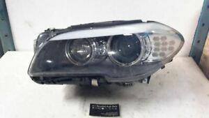 Driver Left Headlight Xenon HID Adaptive Headlamps Fits 11-13 BMW 528i 93261