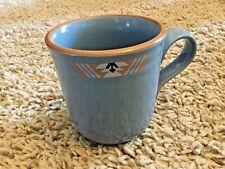 Noritake Stoneware Coffee Tea Mug Cup, Blue Adobe #8678