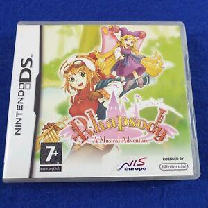 *ds RHAPSODY (NI) A Musical Adventure Lite DSi 3DS PAL Version REGION FREE