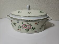 Wedgwood fine china serving dish with lid. FLEUR 1997/ Casserole. Vintage