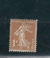 """FRANCE TIMBRE N° Y&T 277A """" Semeuse 1 c bistre """" NEUF**"""