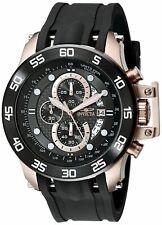 Invicta Herren I-Force Analog Display Japanisch Quarz Schwarz Uhr
