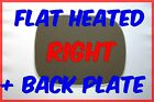 VOLVO XC90 2007-2014 WING MIRROR GLASS FLAT HEATED BACKING PLATE RIGHT HAND SIDE
