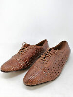 VINTAGE 90S Style Leather Shoes Scarpe Basse In Pelle EUR 42 Uomo Man
