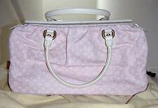 Louis Vuitton GM Trapeze Handbag Creme Leather & Pastel Pink Purse 2004-2005 NIB