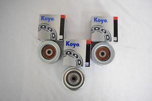 Koyo Idler Pulley Kit V6 4.0L 1GRFE Fits: Toyota Tacoma 2005-2014