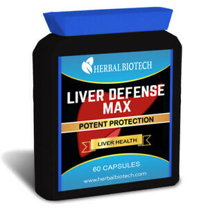 Liver Defense Max Milk Thistle Burdock Root, Dandelion, Vegetable Capsules