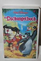 Walt Disney - Das Dschungelbuch - VHS mit Hologram