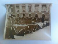 PHOTO PRESSE REMISE INSIGNES MILITAIRES A L ARMEE AUTRICHIENNE 28/10/1935